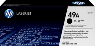HP No. 49A Zwart 2.500 pagina`s (Origineel)