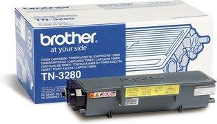 Brother TN-3280 Zwart 8.000 pagina`s (Origineel)