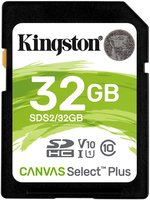 SDHC Card 32GB Kingston UHS-I Canvas Select Plus