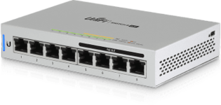 Ubiquiti US-8-60W 8Port 1Gbit PoE+Managed
