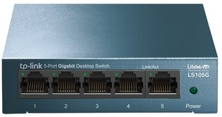 TP-Link LiveWave 5Port 1Gb Metalen behuizing