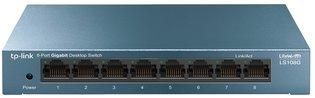 TP-Link LiveWave 8Port 1Gb Metalen behuizing