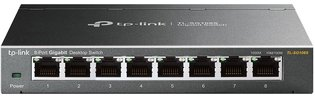 TP-Link 8Port 1Gb Metalen behuizing TL-SG108S