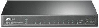 TP-Link 8Port, 8x1Gb - 2xSFP Smart Switch PoE