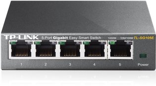 TP-Link 5Port 1Gb Metalen behuizing