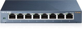 TP-Link 8Port 1Gb Metalen behuizing TL-SG108