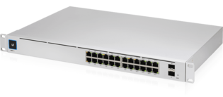 Ubiquiti USW-PRO-24-POE 24Port 1Gbit PoE+ Managed
