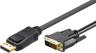 DisplayPort  DVI-D 3.00m Goobay