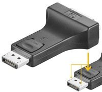Adapter DisplayPort 1.1 --> DVI-D Goobay