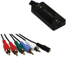 HDMI (F) --> YPbPr / Audio 2.00m LogiLink