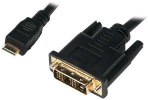HDMI mini  DVI-D 1.00m LogiLink