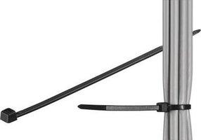 Kabelbinder 200x3,6 mm 100 stuks Zwart Goobay