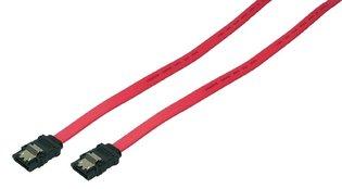 SATA LogiLink 0.75m 6GBs Rood
