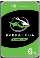 6,0TB Seagate Desktop BarraCuda SATA3/256MB/5400rpm