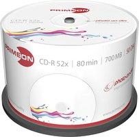 Primeon CD-R80 700MB 50 stuks spindel 52x Printable