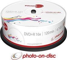 Primeon DVD+R 4.7GB 25 stuks spindel 16x Printable