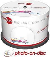 Primeon DVD-R 4.7GB 50 stuks spindel 16x Printable