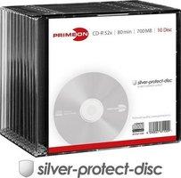 Primeon CD-R80 700MB 10 stuks Slimcase 52x