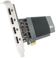 710 ASUS GT H4-SL-2GD5 2GB/4xHDMI/DVI/VGA/Low Profile