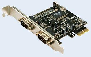 PCIExpress card Serieel (2xe) LogiLink