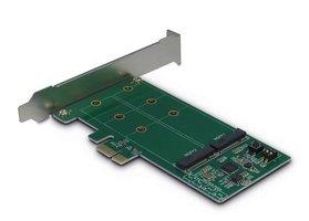 Adapter LP PCIe--> 2x M.2 SATA Inter-Tech KCSSD4