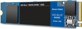 500GB M.2 PCIe NVMe WD Blue SN550 3D/TLC/2400/1750 Ret