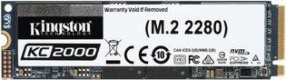 1TB M.2 PCIe NVMe Kingston KC2000 3D/TLC/3200/2200 Ret