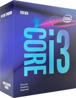 1151 Intel Core i3 9100F 65W / 3,6GHz / BOX / No GPU
