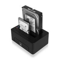 EW7014  Docking Station USB 3.1 Gen1 (USB3.0) voor 2.5 en 3.5 inch SATA HDD/SSD