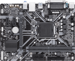 Gigabyte 1151 H310M DS2 2.0 - VGA/µATX