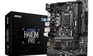 MSI 1200 H410M Pro - 2xM.2/HDMI/DVI/VGA/µATX