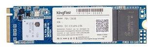 128GB M.2 PCIe NVMe Kingfast F8N 3D/TLC/1850/650 Bulk