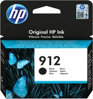 HP No.912 Zwart 8,29ml (Origineel)