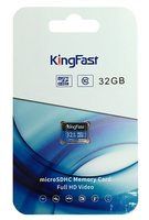 SDHC Card Micro 32GB Kingfast UHS-I CL10 P500