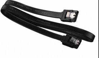 SATA OEM 0.40m 6GBs met Clip Zwart