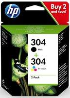 HP No.304 Combo Pack 6ml (Origineel)