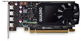 P1000 PNY QUADRO P1000 mDP/GDDR5/4GB Low Profile Retai