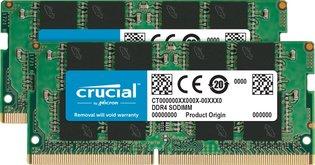 SO DIMM 16GB/DDR4 2666 Crucial CL19 2x8GB