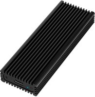 M.2 PCIe NVMe Logilink SSD-behuizing USB3.2-Gen2/Zwart