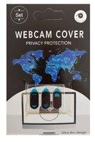 OEM Webcam Cover 3st. - Privacy schuifje - Retail
