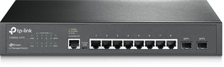 TP-Link 8Port, 8x1Gb - 2xSFP Managed
