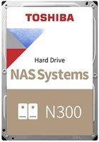 8,0TB Toshiba N300 NAS Series SATA3/256MB/7200rpm