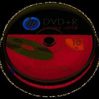 HP DVD+R 8.5 GB 10 stuks spindel 8x Dual-Layer