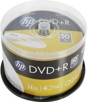 HP DVD+R 4.7 GB 50 stuks spindel 16x