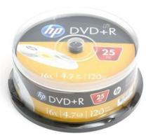 HP DVD+R 4.7GB 25 stuks spindel 16x