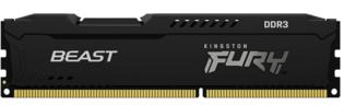 4GB DDR3/1600 CL10 Kingston FURY Beast Black
