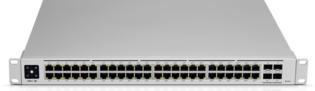 Ubiquiti USW-PRO-48-POE 48Port 1Gbit PoE+ Man [1]