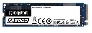 250GB M.2 PCIe NVMe Kingston A2000 3D/TLC/2000/1100