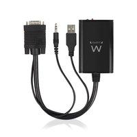 Ewent EW9867 VGA naar HDMI converter met audio