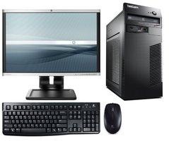 Lenovo ThinkCentre M73 Intel G3220 - HP LA2205WG 22 inch monitor